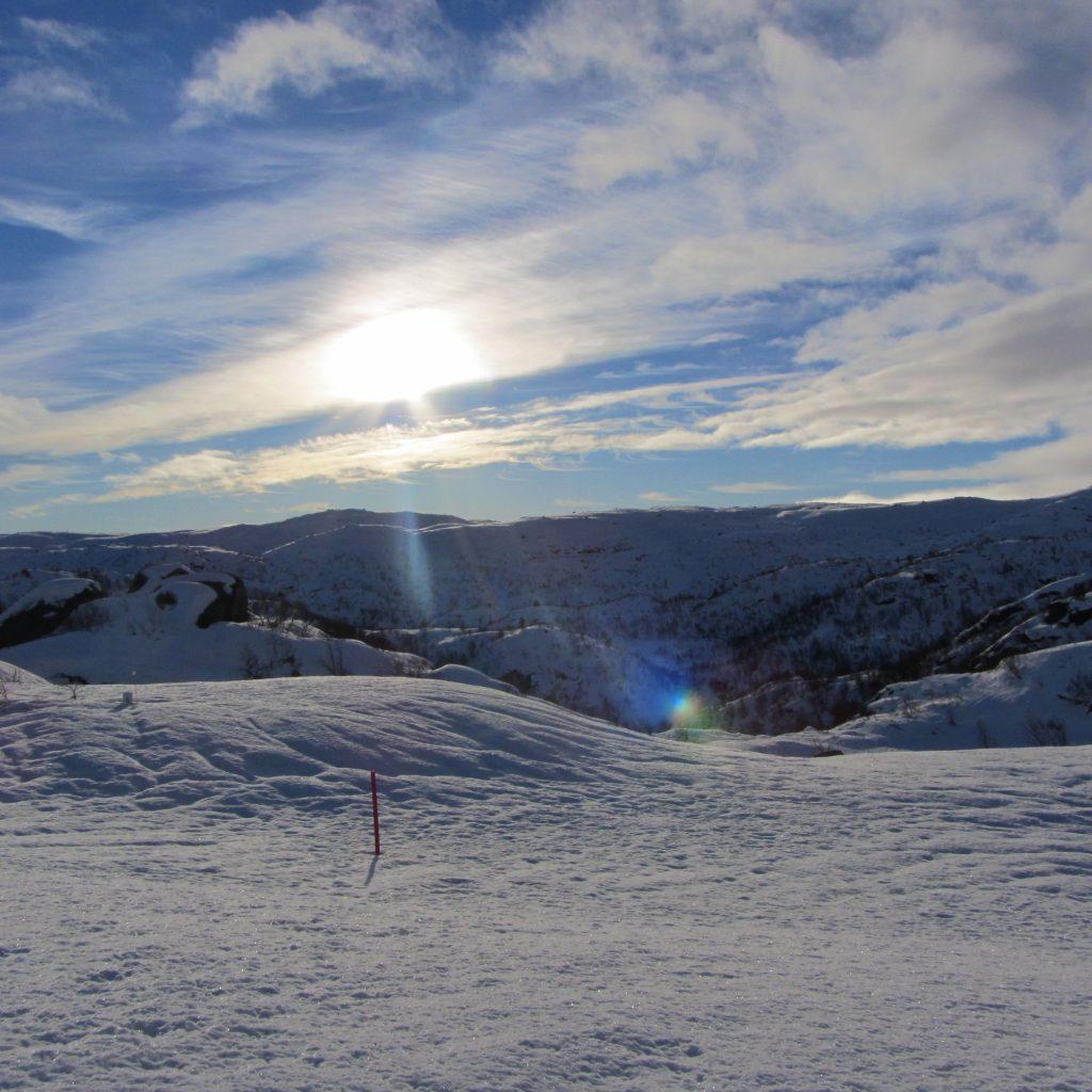 Nok Av Snø I Farevassknuten 800moh.