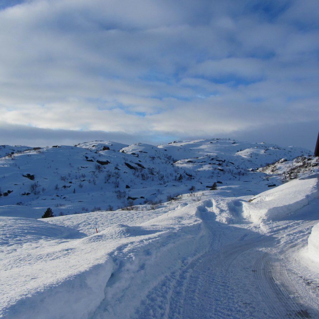 Snø Så Langt øyet Kan Se!