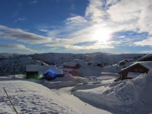 Nok av snø også i Ørnefjell!
