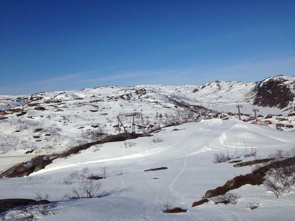 Toppen Av Ørnefjell Siste åpningsdag 16.april