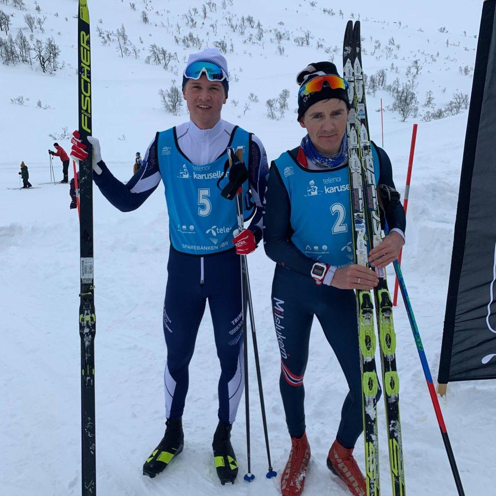 Lars Og Erlend Ble Raskeste Rundt Skoræ På Rett Under Timen.